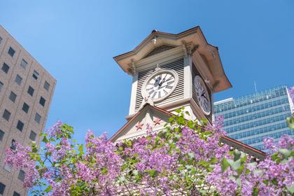 時計台の風景