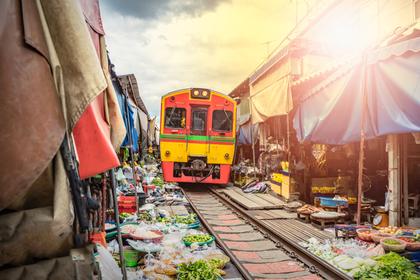 列車の風景