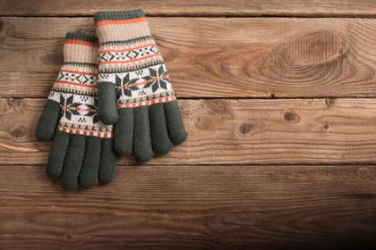 お気に入りの手袋