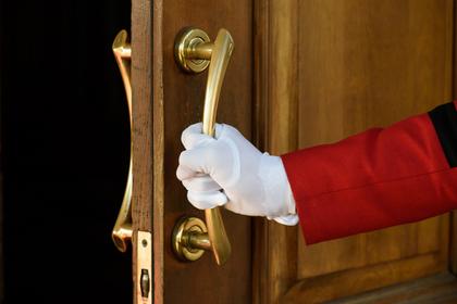 ドアをあける