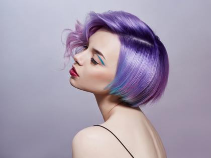 綺麗な髪の毛の女性