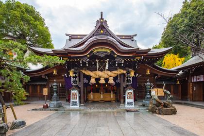 大きな神社