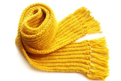 黄色いマフラー