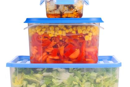 野菜の入ったボックス