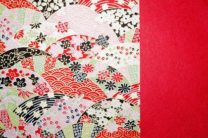 千代紙デザインペーパー画像