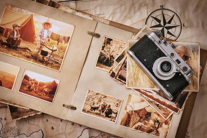 アルバムとカメラ画像