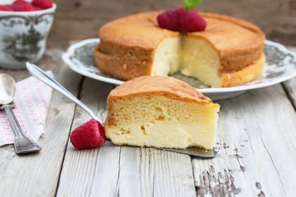 黄色くて美味しいケーキ