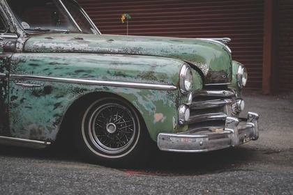 アンティークな車