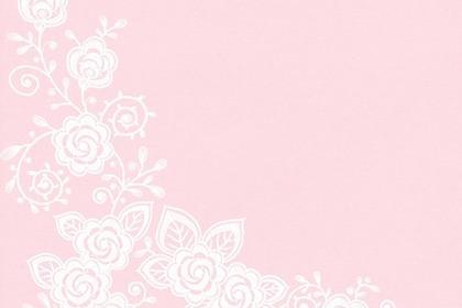バラの模様