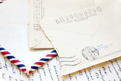 封を開けた手紙