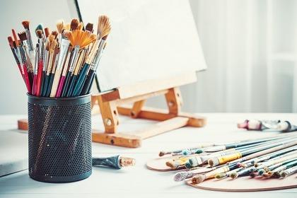 たくさんの絵筆