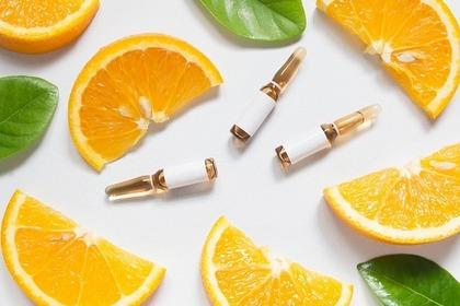 オレンジと化粧品