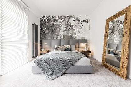 ベッドの風景