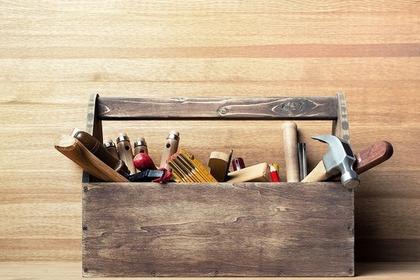 工具の入った箱