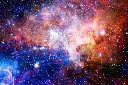 宇宙のような空