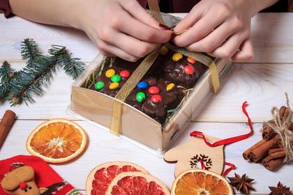 プレゼントするケーキ