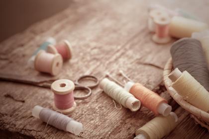 手縫いはまつり縫い