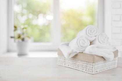 真っ白いタオル