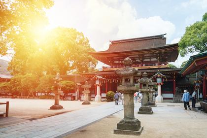 お寺の風景